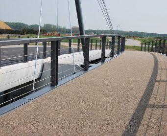 slijtlaag Himgrip NT op brugdek aangebracht door Gacon web4