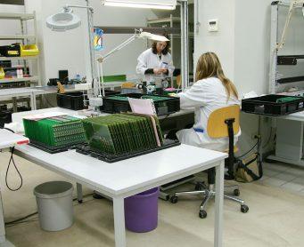 ESD vloer electronische industrie