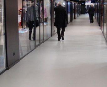 Winkelvloer Trade Mart Brussel