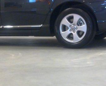 Garagevloer Volvo Garage Den Bosch