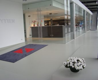 kantoor ontvangstruimte vloer