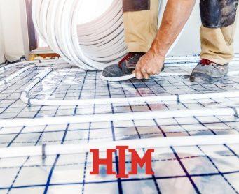 Is een troffelvloer geschikt voor vloerverwarming?