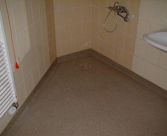 Troffelvloer-sanitair