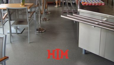 A suitable epoxy coating for every floor
