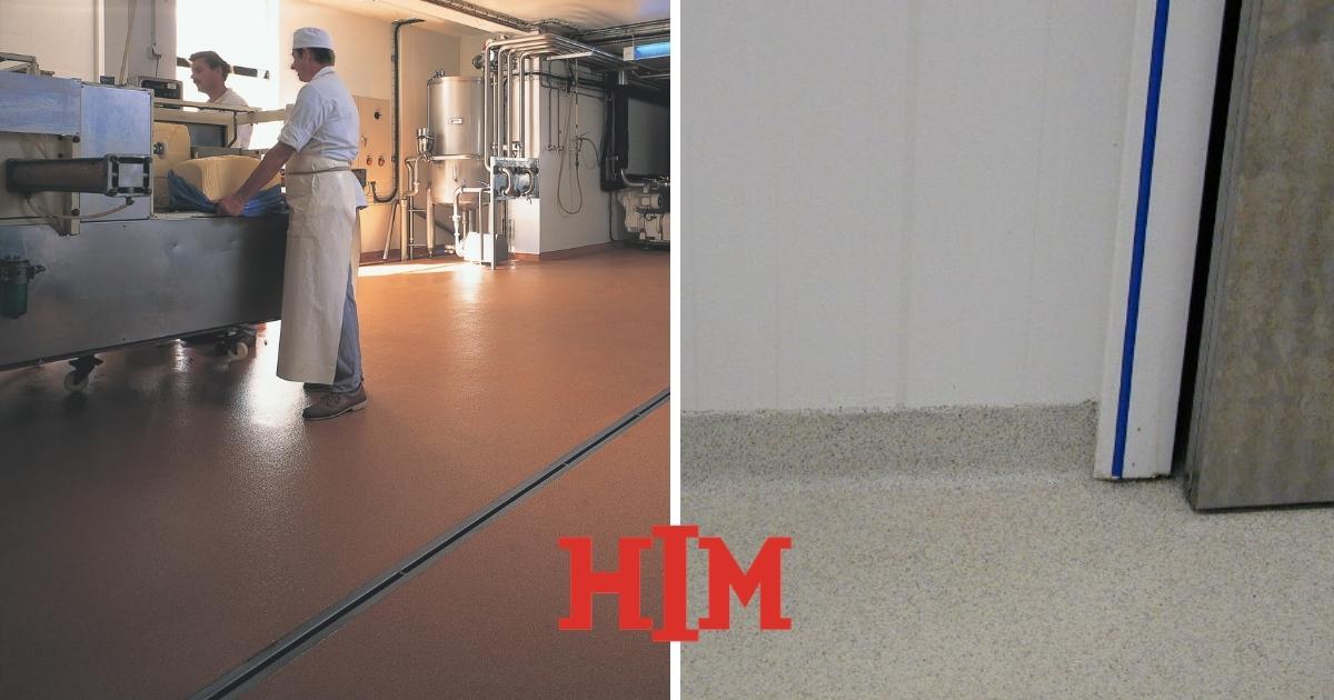 Troffelvloer in showroom: voor een stevige vloer die gezien mag worden
