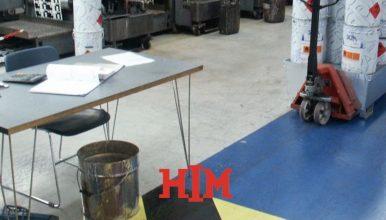 Bedrijfsvloer coaten voor behoud en bescherming